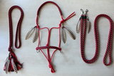 SET! ''Feather Style'' ropehalter + reins + neckrope_