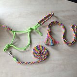 SET! Ropehalter+leadrope+neckrope_