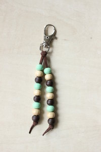 Clip with beads